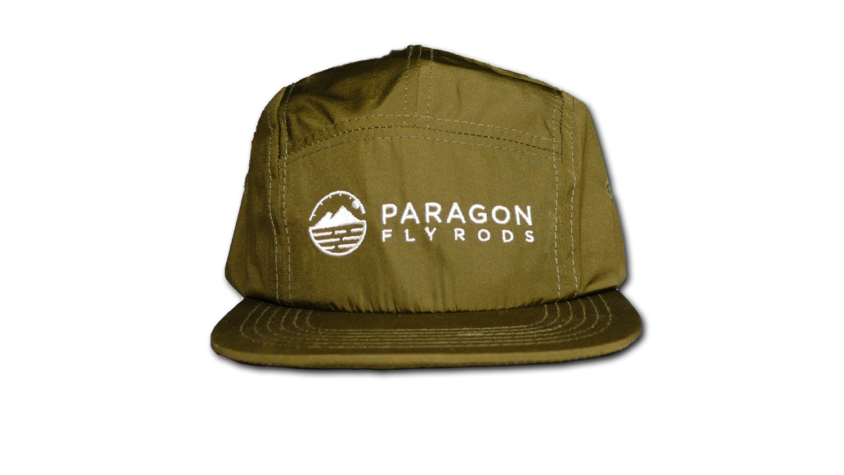 paragon fly rods green cap